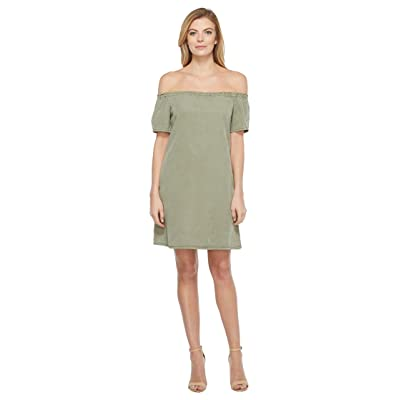 AG Adriano Goldschmied Harley Tent Dress (Sulfer Harvest Olive) Women