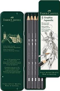 Faber Castell Graphite Aquarelle Pencil Set of 5pcs