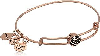 Alex and Ani Women's New Beginnings Symbol Bead Charm Bangle, Rafaelian Rose Gold