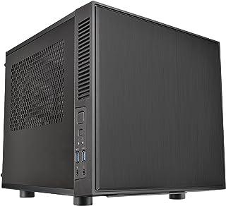 Thermaltake Suppressor Mini ITX Cube Chassis Ultra Quiet Gaming Silent Computer Case CA-1E6-00S1WN-00