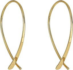 LAUREN Ralph Lauren - Belle Isle Medium Elongated Endless Hoop Earrings
