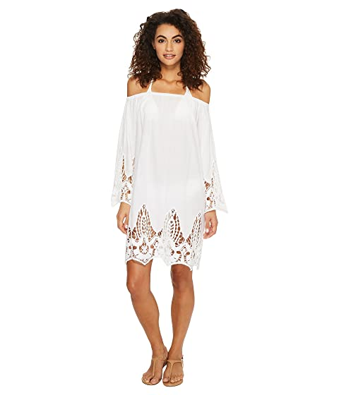 ATHENA Mystique Off The Shoulder Tunic, White