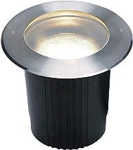 SLV Vloerinbouwlamp DASAR 215 / spot voor terras, outdoor spot, inbouwlamp tuin, vloerlamp voor buiten / E27 IP67 11.0W ro...