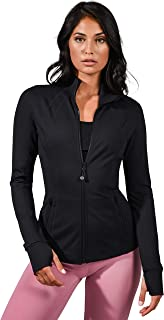 Women's Lightweight, Full Zip Running Track Jacket
