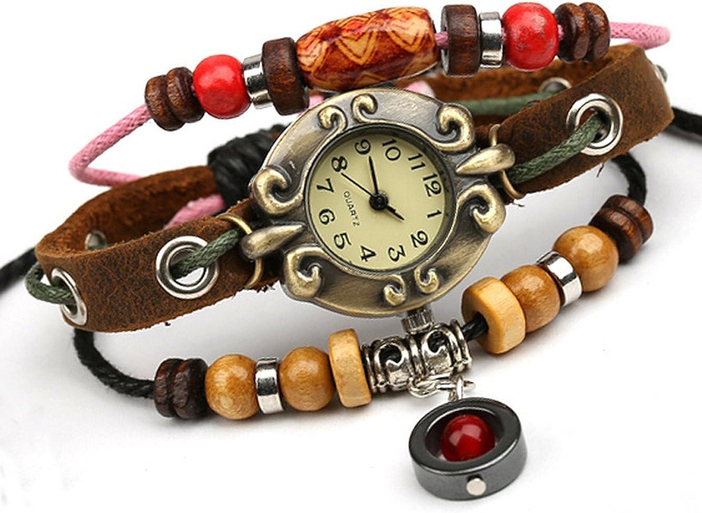 Bohemian OFFer Style Multistrand Beaded Wrist Steampunk Weekly update Bracelet Watch