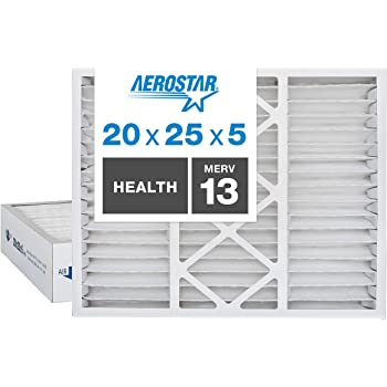 Nordic Pure 20x25x5 Box of 1 20x25x5HM10-1 4-3//8 Actual Depth MERV 10 Honeywell Replacement Pleated AC Furnace Air Filter