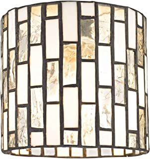 Solstice Tiffany Glass Shade - Lipless with 1-5/8-Inch Fitter Opening
