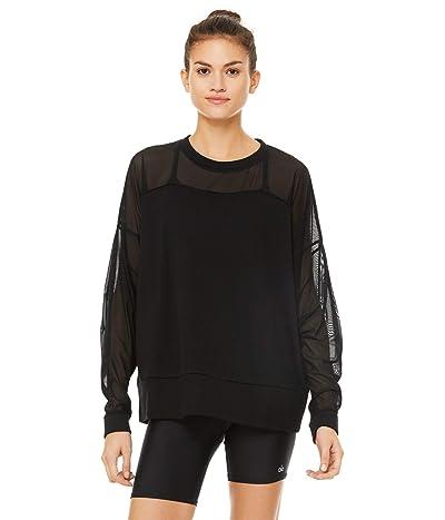 ALO Contoured Pullover (Black) Women