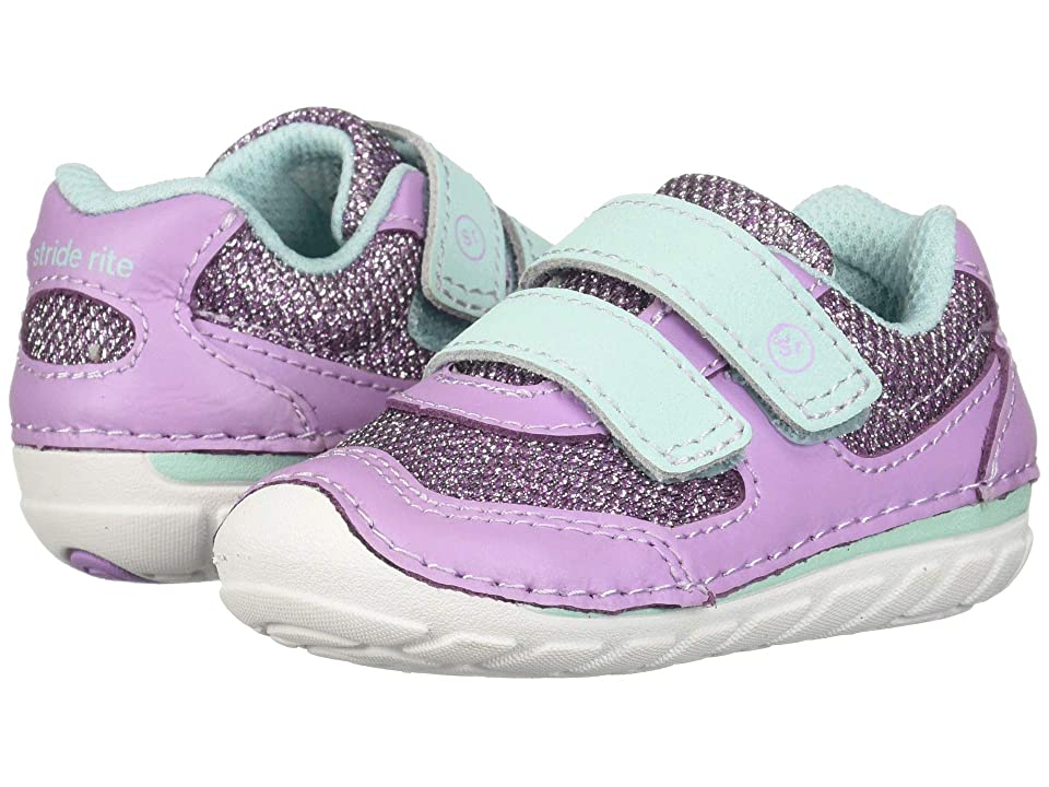 Stride Rite SM Mason (Infant/Toddler) (Lilac) Girls Shoes