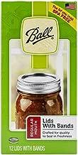 Best mason jar lids and rings Reviews