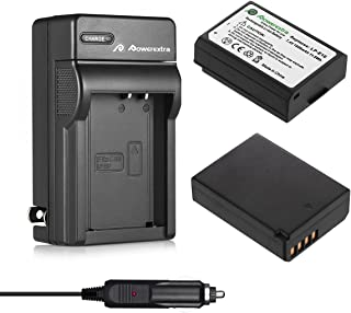 Powerextra 2 Pack LP-E10 Batteries and Charger Replacement for Canon EOS Rebel T3, T5, T6, T7, Kiss X50, Kiss X70, EOS 110...