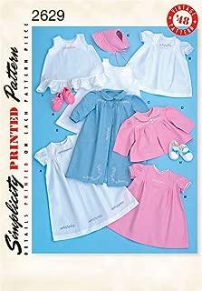 Simplicity Sewing Pattern 2629 Crafts, A (XXS-XS-S-M-L)