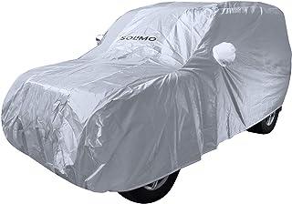 Amazon Brand - Solimo Mahindra Scorpio UV Protection & Dustproof Car Cover (Silver)