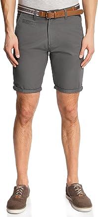 oodji Ultra Uomo Pantaloncini in Cotone con Cintura