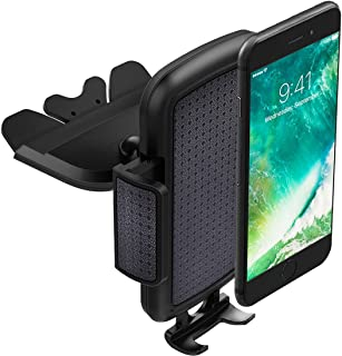 ToHayie Universal CD Slot Car Mount,Car Phone Holder for iPhone 8,iPhone X,7/7Plus/6s/6Plus/5S,Samsung Galaxy S5/S6/S7,LG ...