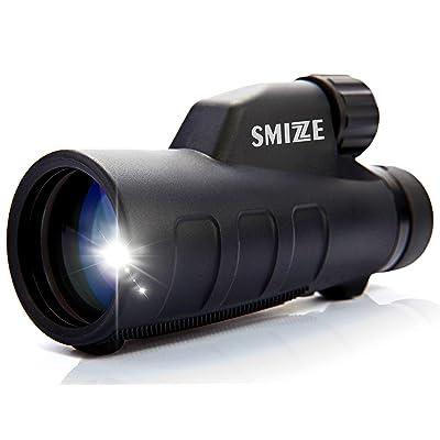 SMIZZE 12X50 High Power Monocular Telescope wit...
