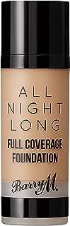 Barry M Cosmetics All Night Long Liquid Foundation - Butterscotch