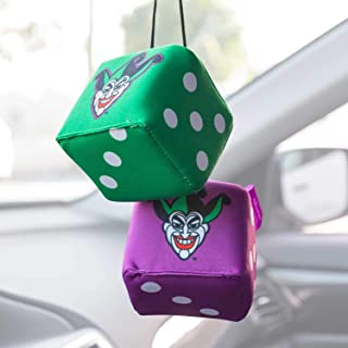 Retro Mirror Hanging Joker Dice for Car Auto Boat (Sedan Coupe SUV Truck) – Pair