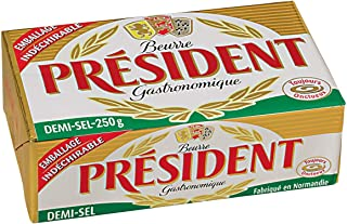 President Butter Block, Salted, 250g - Chilled