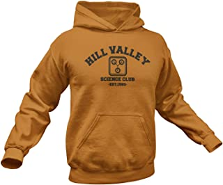 Back To The Future Hoodie. Hill Valley Hoodie. Adult Unisex in Multiple Colors up to 3XL