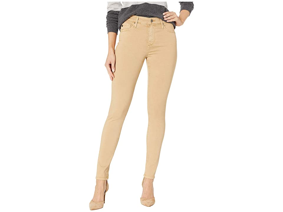 Image of AG Adriano Goldschmied Farrah Skinny Ankle in Sulfur Toasted Almond (Sulfur Toasted Almond) Women's Jeans
