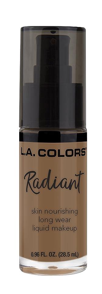 できるありがたい重々しいL.A. COLORS Radiant Liquid Makeup - Mocha (並行輸入品)