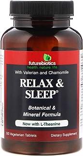FutureBiotics Relax & Sleep, 120 Vegetarian Tablets