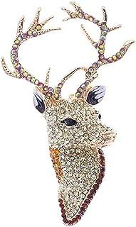 FOPUYTQABG Broche hecho a mano de tela de tela de arte largo Pin broche de cuentas solapa palo collar broche boda mujeres ...