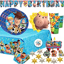 Disney Toy Story Birthday Party Small Cake Plates Pack of 8