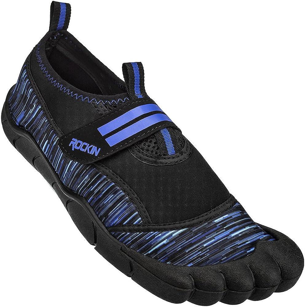 Rockin Footwear mens unisex-child Bay 2021 new Popular overseas Foot Aqua