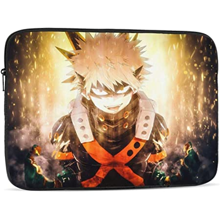 Waterproof Notebook Computer Bag-Light and Comfortable Tablet Briefcase-Band Zipper Portable Handbag 15 Inch Anime Dororo 13-Inch to 15-Inch Laptop Sleeve Case
