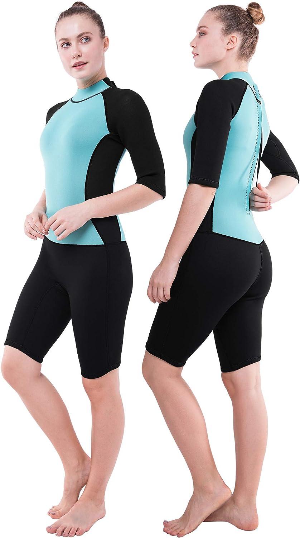DEHAI Wetsuit Men Women Regular dealer 3 2mm Warm Department store Shorty Full Lon Neoprene Body