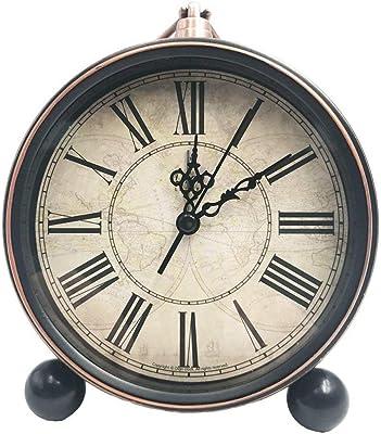 Steaean Despertador Reloj de sobremesa decoración del ...