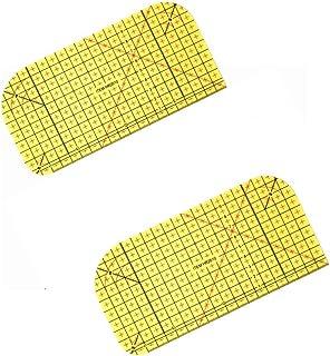 Régua de passar a ferro quente da Honeysew, régua de medida para passar a ferro, ferramentas de patchwork para fazer roupa...