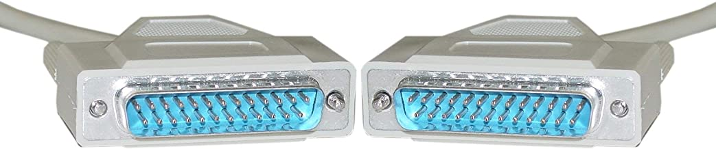 Serial Cable 2 Pack GOWOS UL Rated 15 Feet 9 Conductor DB9 Female to DB25 Male