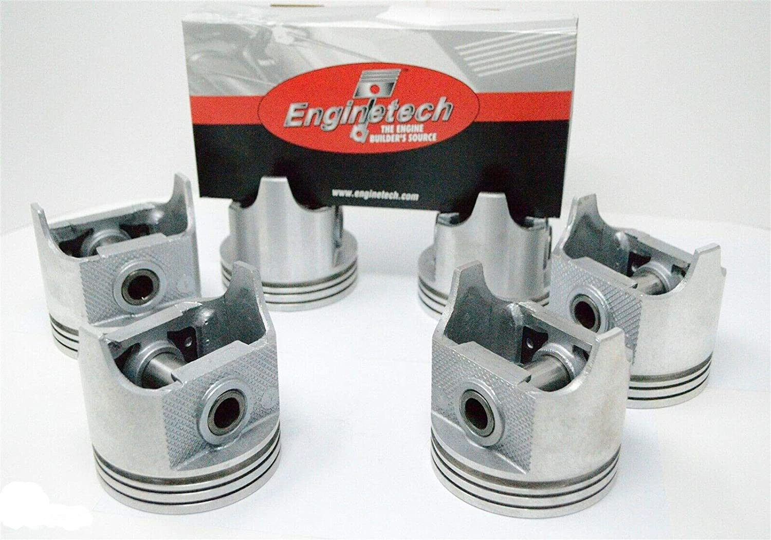 Enginetech 6 Super sale Pcs of Dish TOP Max 41% OFF Compatible Rings wit Pistons STD