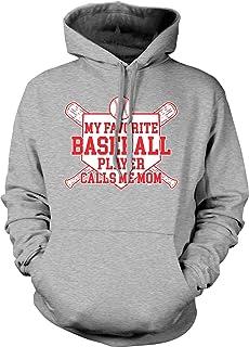 Tcombo My Favorite Baseball Player Calls Me Mom Unisex Hoodie Sweatshirt