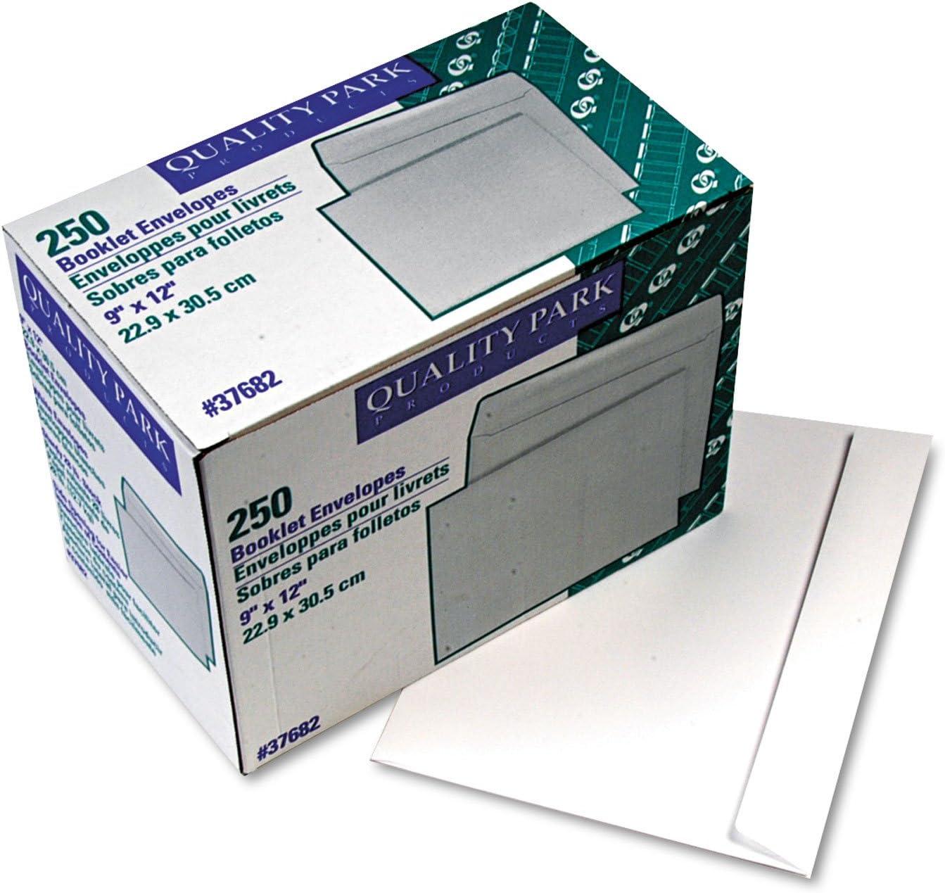 QUA37682 - Quality Park Booklet Open Max 78% OFF Envelope Side Large-scale sale