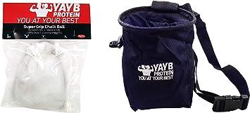 YAYB Pro - Bolsa de tiza y bola de tiza (carbonato de ...