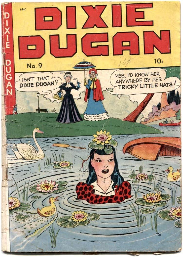 Dixie Max 42% OFF Dugan #9 1948- Colorado Springs Mall Golden Age spicy art G- comic-