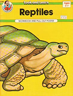 Reptiles: Workbook and Pull-out Poster, Ages 2-7