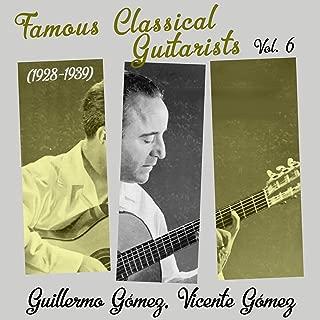 Famous Classical Guitarists, Vol. 6 (1928 - 1939)