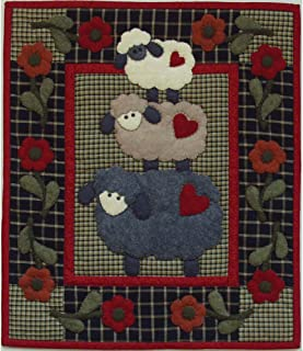 Rachel's Of Greenfield Wooly Sheep Quilt kit, 13