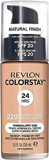 Revlon ColorStay Liquid Foundation For Normal/dry Skin, SPF 20,Natural Beige, 1 Fl Oz
