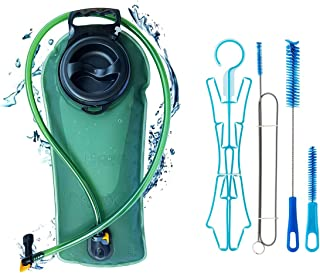 PerCare Thickening TPU Hydration Bladder 2 Liter Leak Proof Reservoir, BPA Free Hydration Pack Replacement for Hiking Biki...
