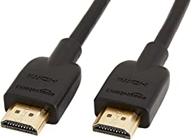 AmazonBasics HL-007306 High-Speed HDMI Cable, 6 Feet, 1-Pack
