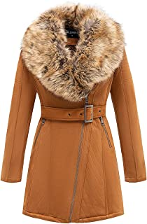 Best womens leather coat with fur Reviews