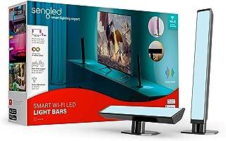 Sengled Smart Wi-Fi LED barras de luz multicolor funcionan con Alexa y Google Assistant, retroiluminación LED de TV ambien...