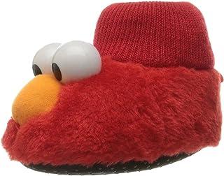 Sesame Street Elmo Cookie Monster Boys ، دمپایی جوراب ساق بلند (کودک نو پا / بچه کوچک)