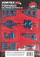 Redcat Racing HUK-4B Tornado S30 & Vortex-SS Hop Up Kit, Blue
